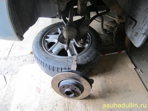 ремонт ступицы машины логан Ремонт передней ступицы, моей машины Логан