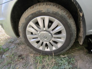 замена тормозных колодок Renault Logan