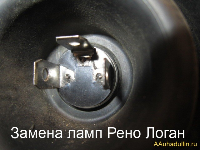 замена ламп автомобиля