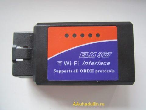 Adapter for diagnostic ELM327 e1509606940358 Адаптер для диагностики ELM 327 с разъёма OBDII