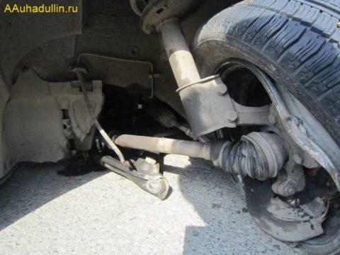 Фото 4 Вырвало шаровой шарнир Renault Logan