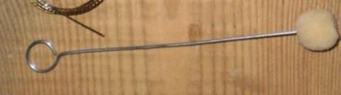 Валик тампон для ремонта лобового стекла