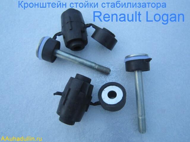 a rack of the stabilizer Renault Logan Стойки стабилизатора поперечной устойчивости «SASIC»